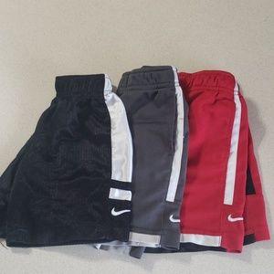 (3) size 3T Nike Shorts